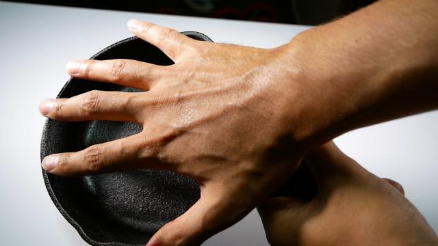 手のひらサイズのスキレット
