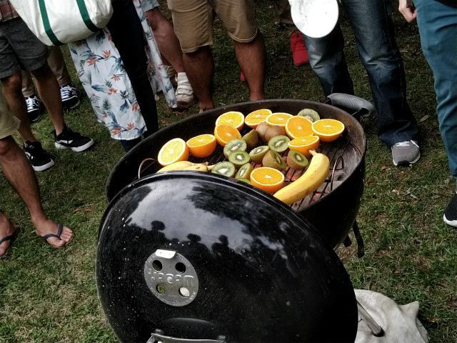 焼きフルーツ