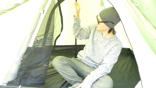 テント内の広さについて