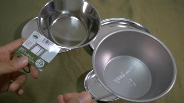 シェラカップの比較