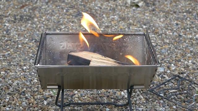 焚き火のしやすさ